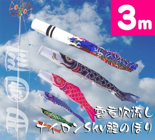 革新的な鯉のぼり セット(庭園用、室内用)(2018年)