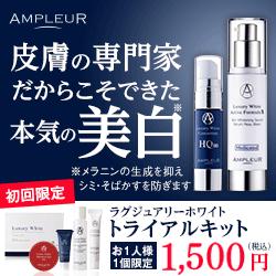 ぶっちぎりのメディカルスキンケア AMPLEUR(アンプルール)(令和元年 [2019年])